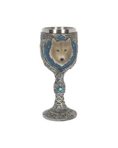 Lone Wolf Goblet 19.5cm Wolves All Animals