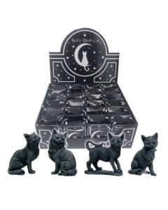 Lucky Black Cats 9cm (Display of 24)