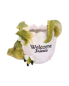 Welcome Friends Pot 17cm