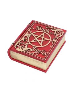 Book of Spells Red 15.5cm