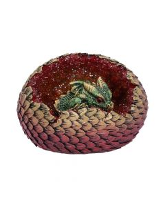 Geode Home (Green) 10.7cm Dragons Realm of Dragons Value Range