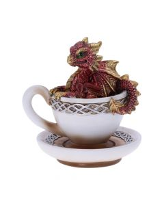 Dracuccino (Red) 11.3cm Dragons Realm of Dragons Value Range