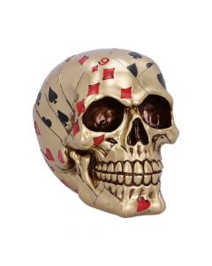 Dead Man's Hand - Gold 15cm Skulls New Products Value Range