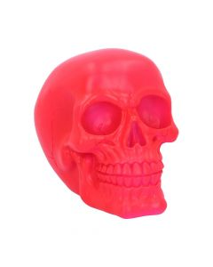 Psychedelic Skull Pink 15.5cm Skulls New in Stock Value Range
