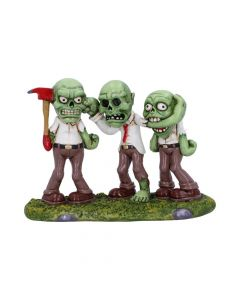 Three Wise Zombies 15.5cm Zombies Halloween Collection