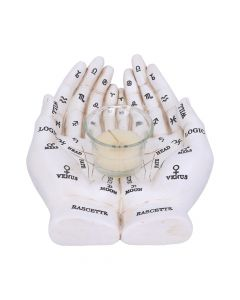 Palmist's Guide (White) 22.3cm Unspecified New in Stock