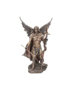 Gabriel With Staff 33.5cm Archangels Figurines Large (30-50cm) Unspecified