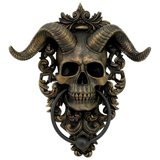 Diabolus Door Knocker 25cm