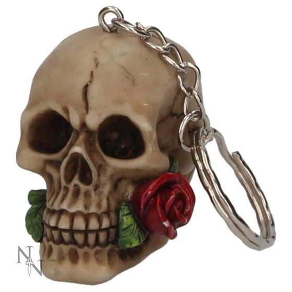 Rose From The Dead Keyrings (Pack of 6) 4.6cm