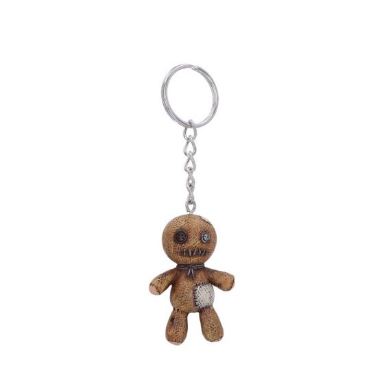 Voodoo Doll Keyring 6cm (Pack of 12) Witchcraft & Wiccan New in Stock