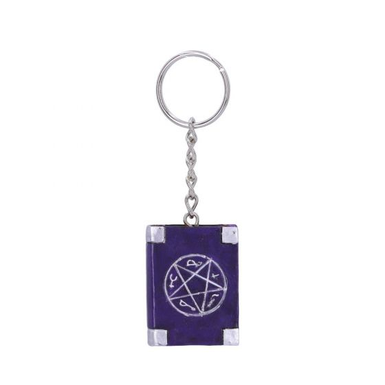 Book of Spells Keyring 4.5cm (Pack of 12) Witchcraft & Wiccan New in Stock