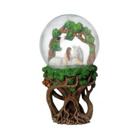 Pure Heart Snowglobe (AS) 18cm