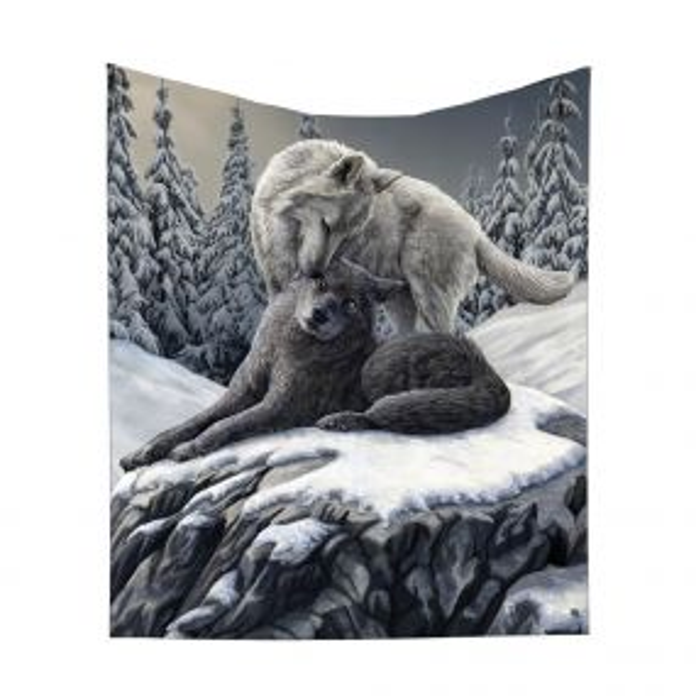 Snow Kisses Throw (LP) 160cm