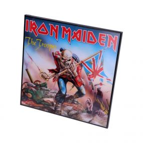 Iron Maiden-The Trooper Crystal Clear Pic 32cm