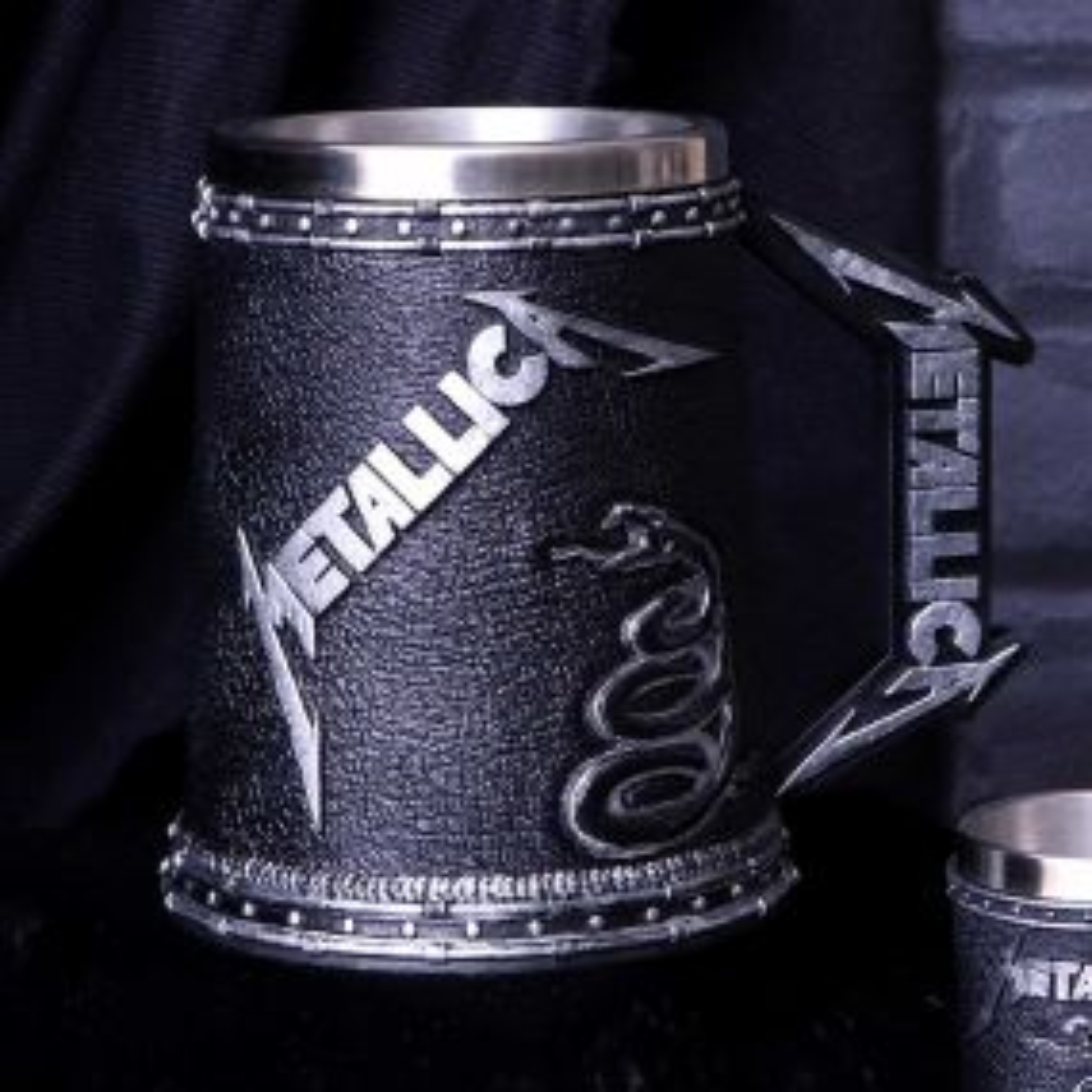 Metallica - The Black Album Tankard
