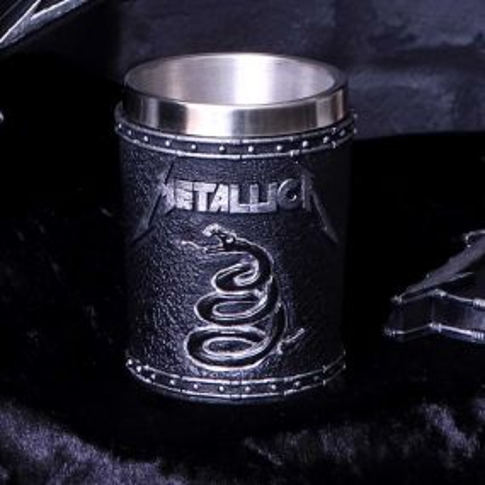 Metallica - The Black Album Shot Glass 7.5cm