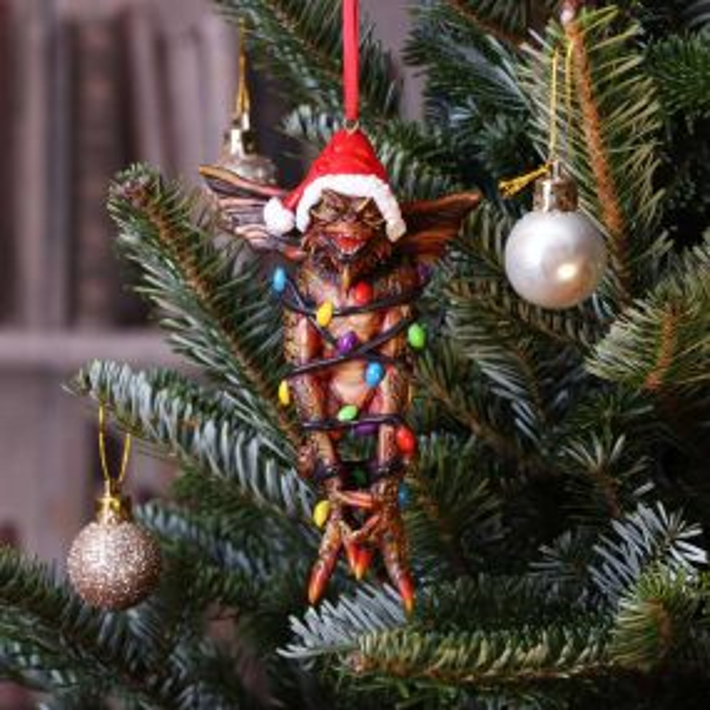 Gremlins Mohawk in Fairy Lights Hanging Ornament