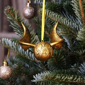 Harry Potter Golden Snitch Hanging Ornament