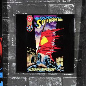 Superman - The Death of Superman Crystal Clear