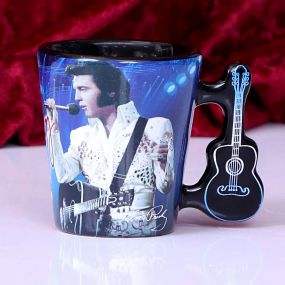 Espresso Cup - Elvis The King of Rock and Roll