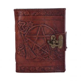 Pentagram Leather Emboss Journal+Lock(SIW)
