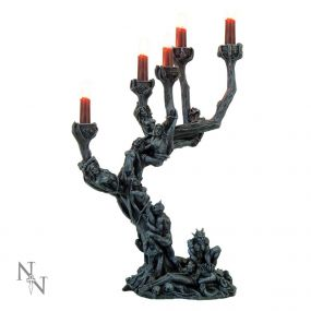 Hells Demons Candle Holder 45cm