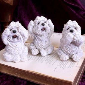 Three Wise Westies 8cm