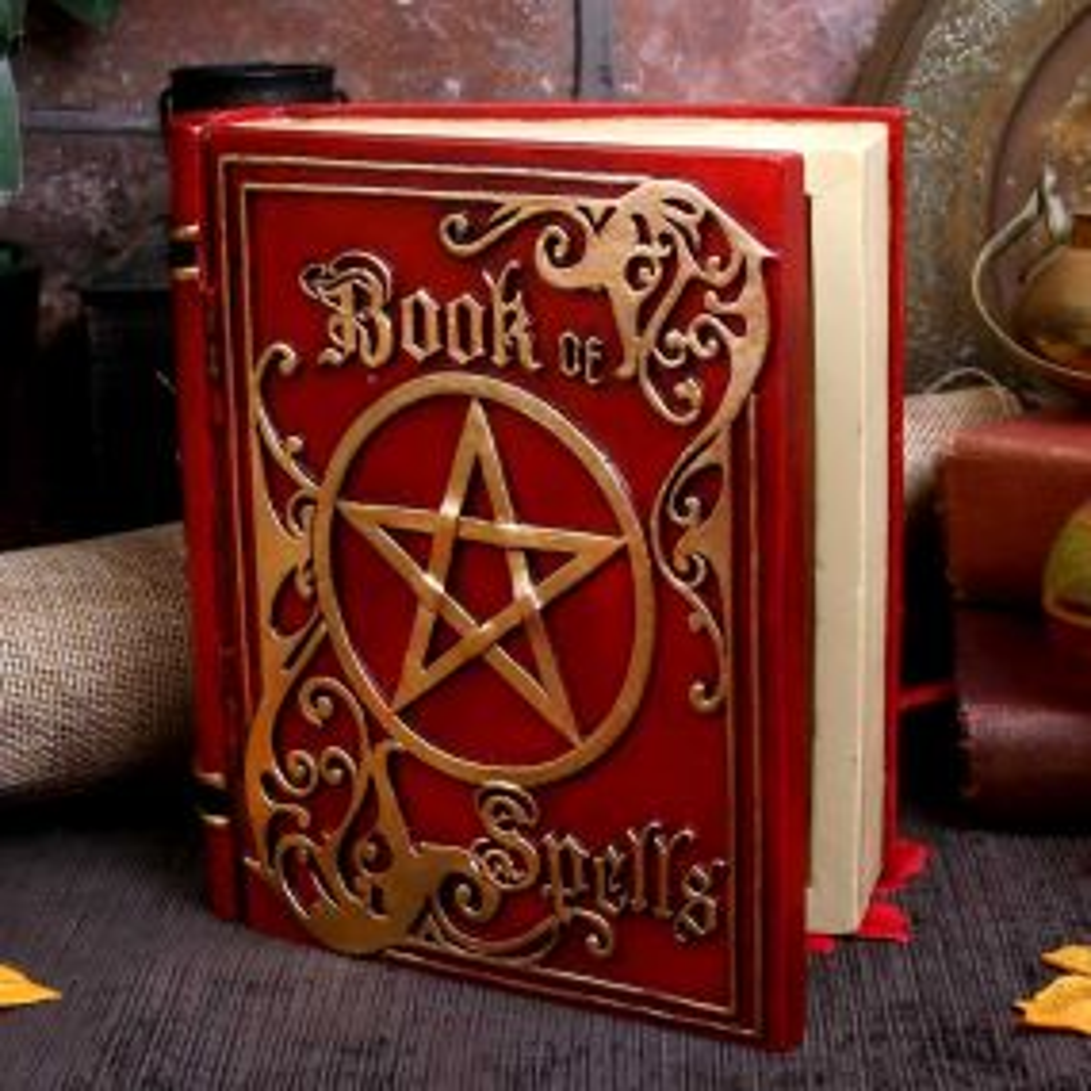 Book of Spells Red 15.5cm