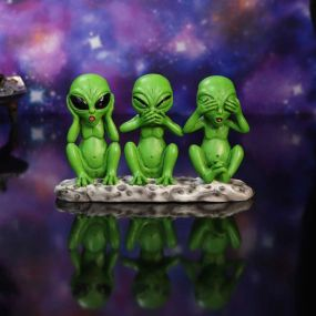 Three Wise Martians 16cm