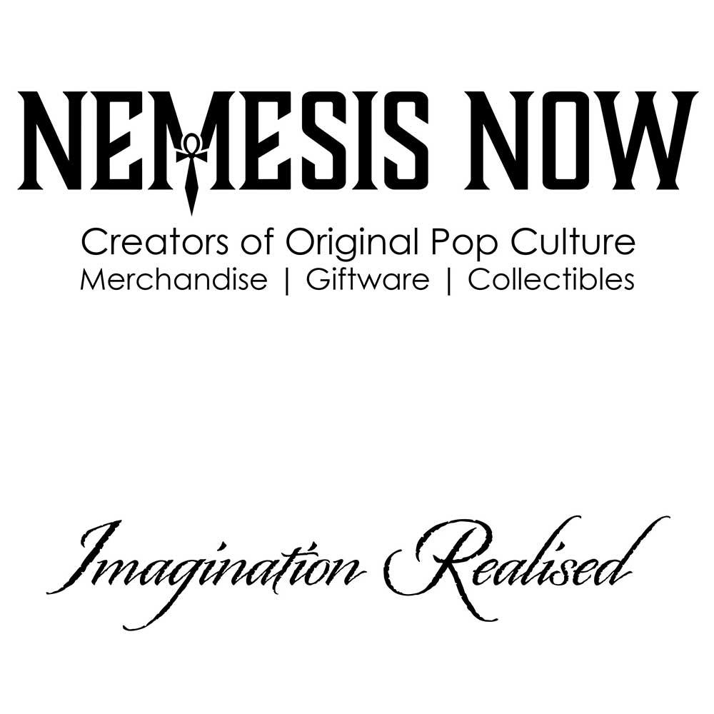 Caja de cart/ón 9 cm Nemesis Now Spirit color negro
