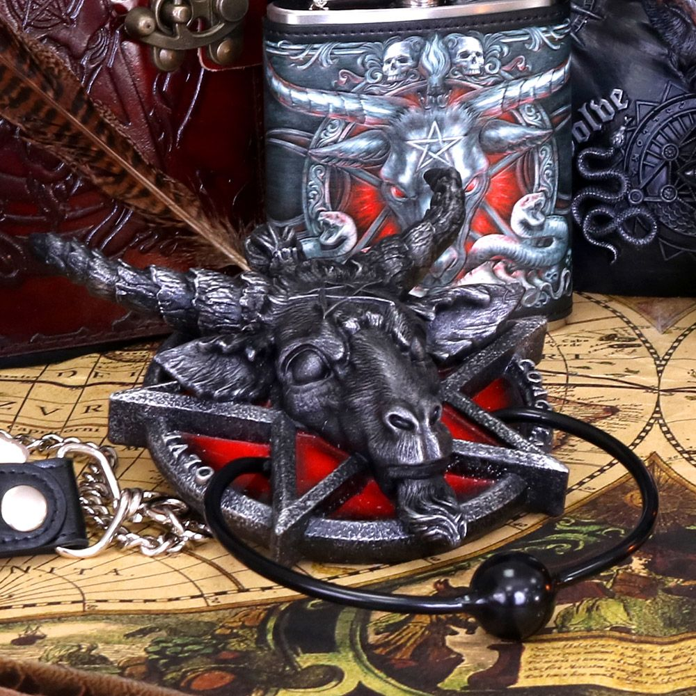 nemesis now Baphomet Door Knocker 20.5cm