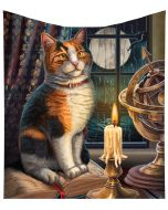 Adventure Awaits Throw (LP) 160cm Cats New Products Artist Collections