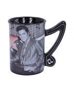 Mug - Elvis - Cadillac 16oz Famous Icons Mother's Day Artist Collections