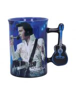 Mug - Elvis The King of Rock and Roll Famous Icons New in Stock Premium Range