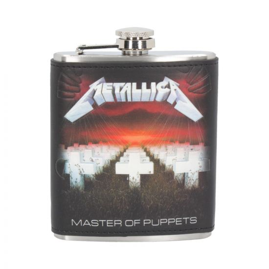 Metallica - Master of Puppets Hip Flask 7oz