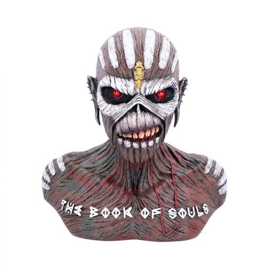 Iron Maiden The Book of Souls Bust Box 26cm Band Licenses In Demand Licenses Artist Collections