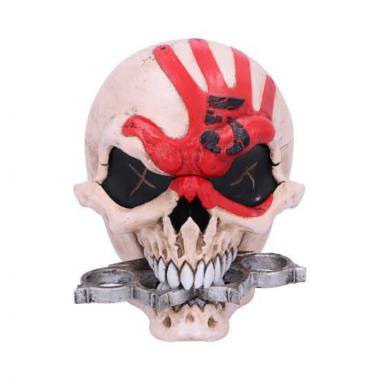 Five Finger Death Punch Skull Box 18cm Band Licenses New in Stock Artist Collections