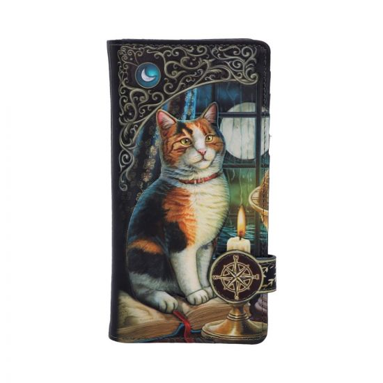 Lisa Parker Adventure Awaits Calico Cat Ship Embossed Purse New in Stock