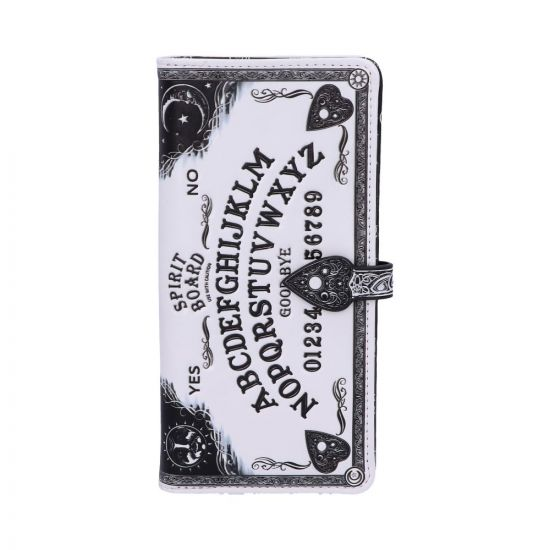 White Spirit Board Embossed Purse 18.5cm Witchcraft & Wiccan New Product Launch Artist Collections