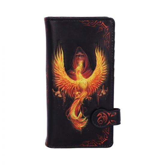 Phoenix Rising Embossed Purse (AS) 18.5cm Fantasy New Products Artist Collections