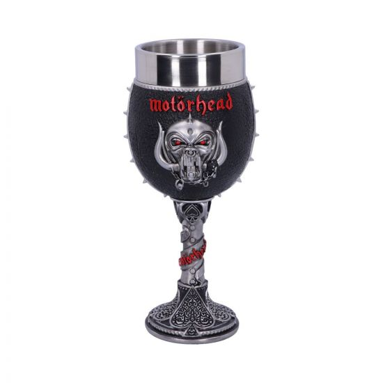 Motorhead Goblet 19.5cm Band Licenses New in Stock Artist Collections