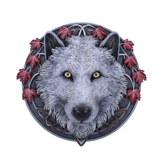Guardian of the Fall Wall Plaque (LP) 29cm Wolves New Products Artist Collections