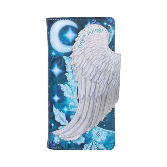 Angel Wings Embossed Purse 18.5cm Angels Popular Products - Light Artist Collections