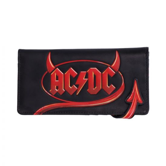 ACDC Embossed Purse 18.5cm Band Licenses New in Stock