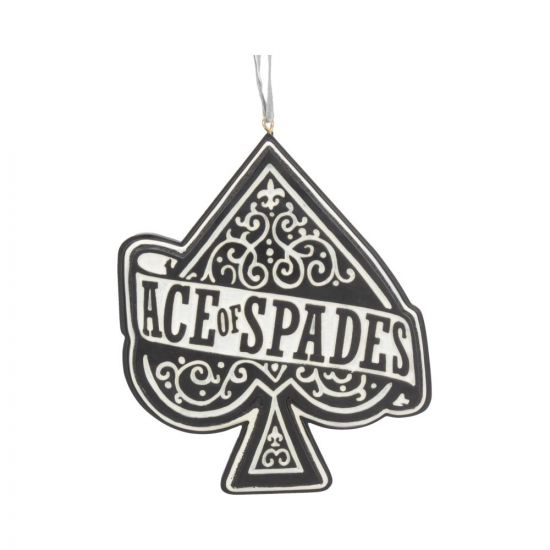 Motorhead Ace of Spades Hanging Ornament 11cm Band Licenses New in Stock