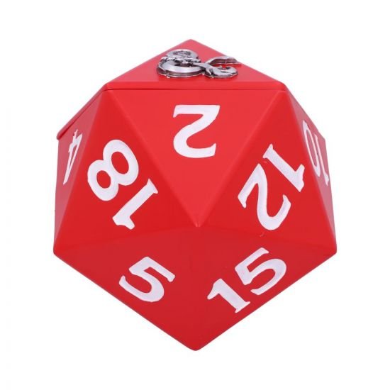 Dungeons & Dragons D20 Dice Box 13.5cm Fantasy Gift Ideas