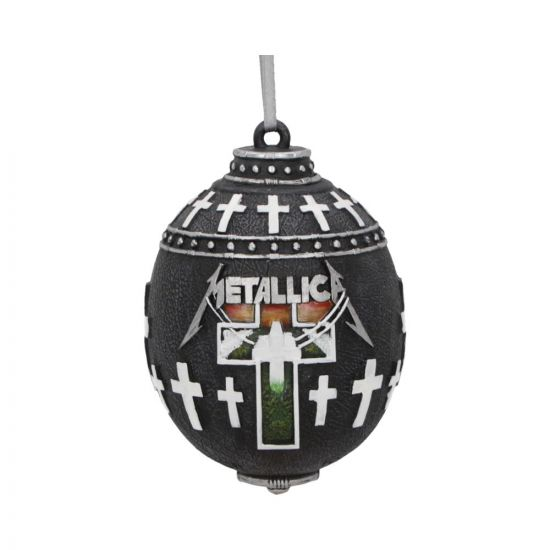 Metallica -Master of Puppets Hanging Ornament 10cm Band Licenses Rock Bands