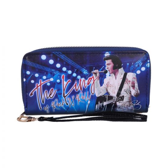 Purse - Elvis The King of Rock and Roll 19cm Famous Icons New in Stock Premium Range