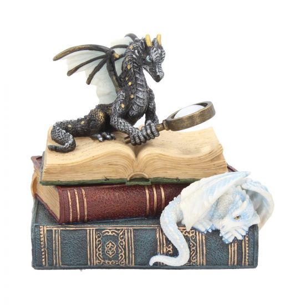 Miniature Scholars Trinket Box 13cm