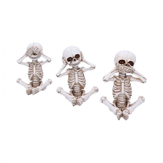Three Wise Skellywags 13cm (Set of 3)